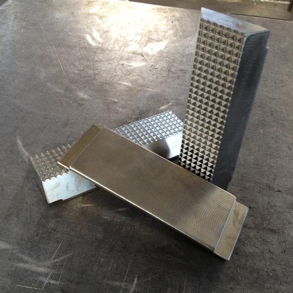Particolari in acciaio temperato